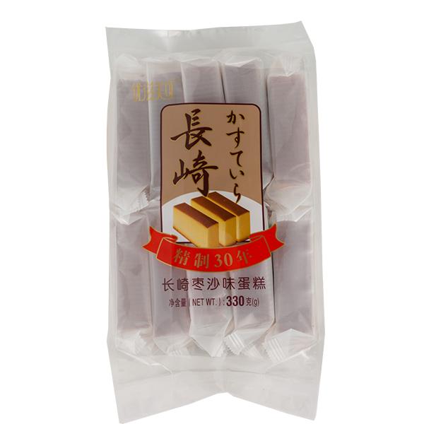 长崎枣沙蛋糕