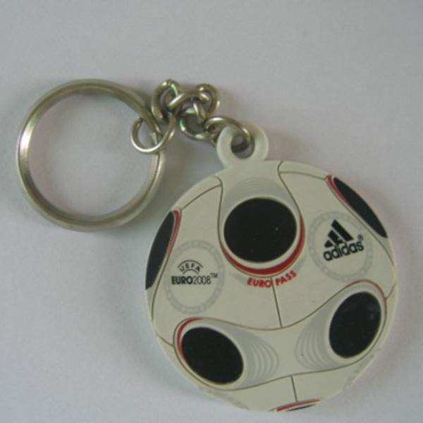 硅膠鑰匙扣