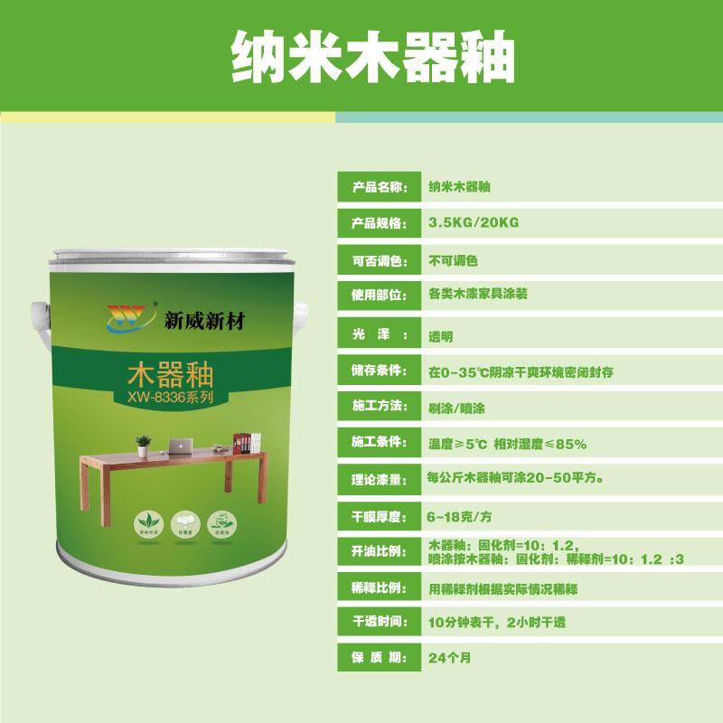 纳米木器釉XW-8336