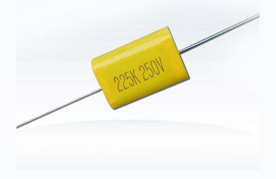 (CL20)金屬化聚乙脂膜(軸向)電容器(扁形)