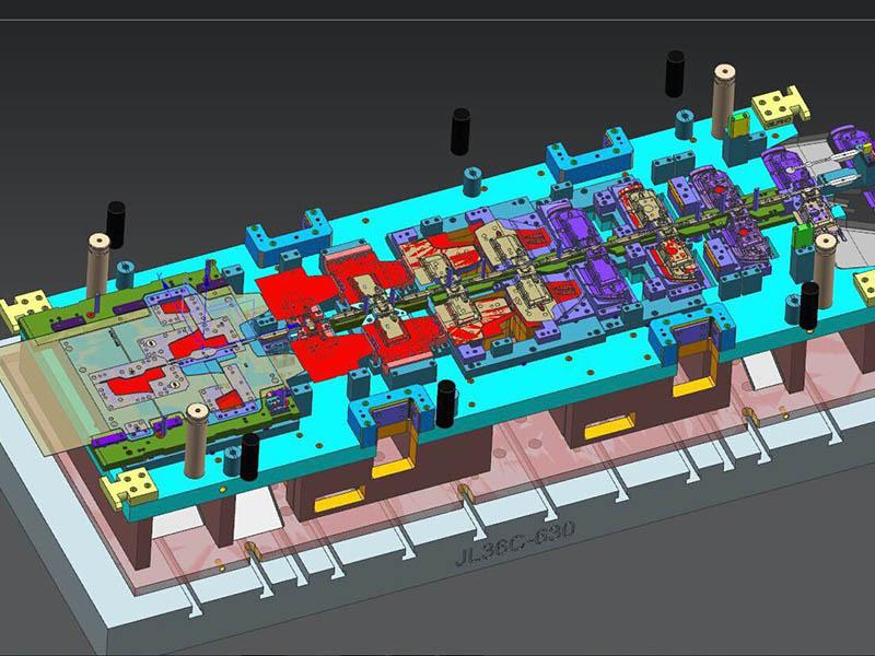 3D Die design