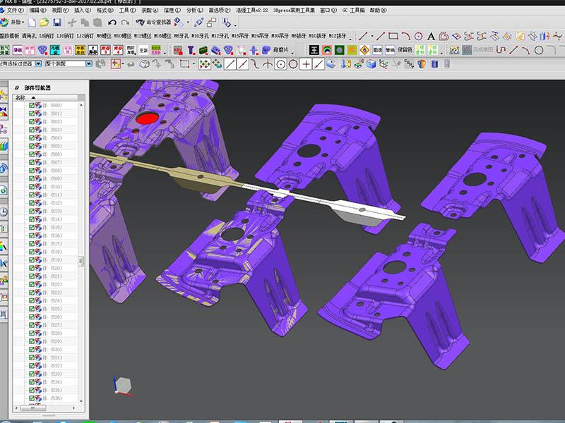 3D Strip design