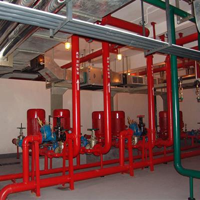 消防泵房.