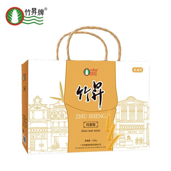 竹昇纯麦面 1.82千克