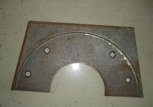 台湾大锼滚筒方形端护板