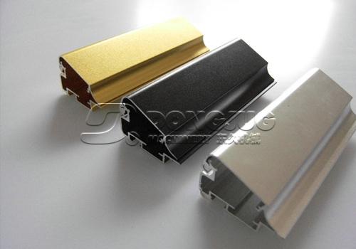 铝型材喷砂加工