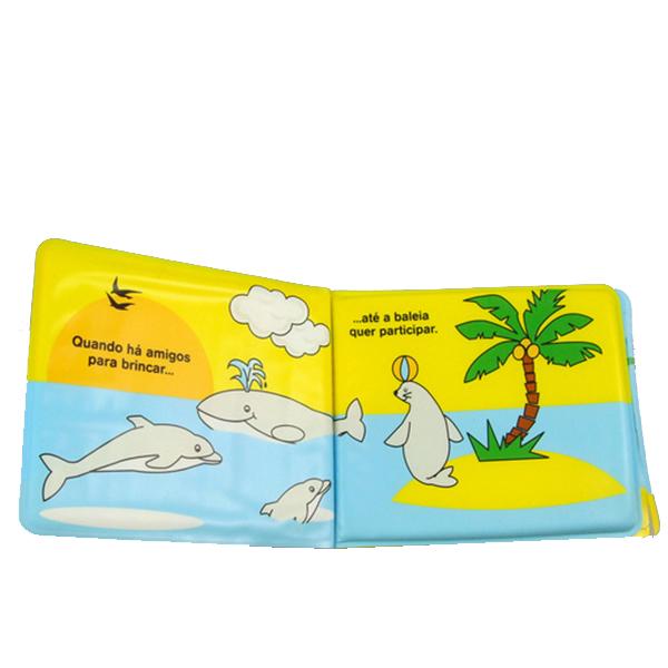 EVA洗澡书