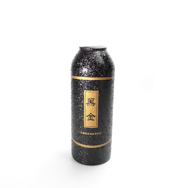 Crystalline oil coating