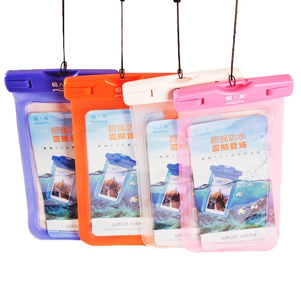 夏季游泳如何挑选手机防水袋才能玩的开心