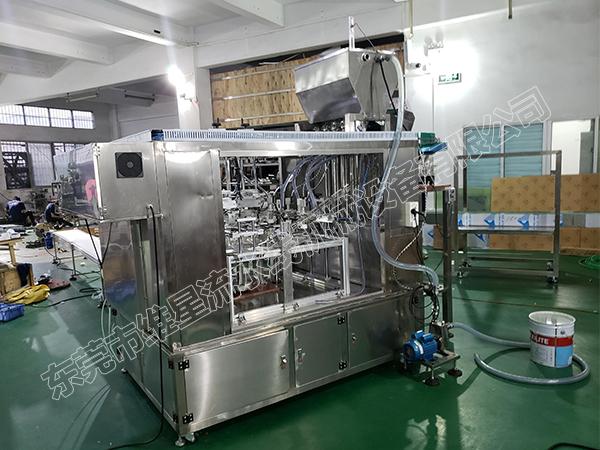 WX-ZLD-4自立袋灌装机