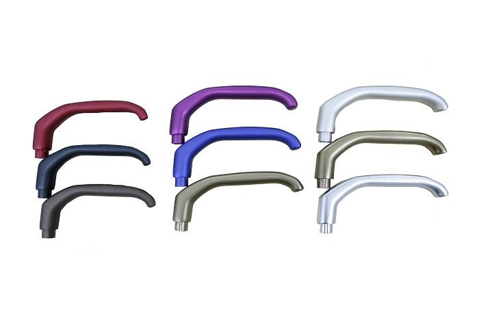 一种可阳极氧化的压铸铝合金新材料门把手
