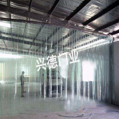 PVC透明门帘