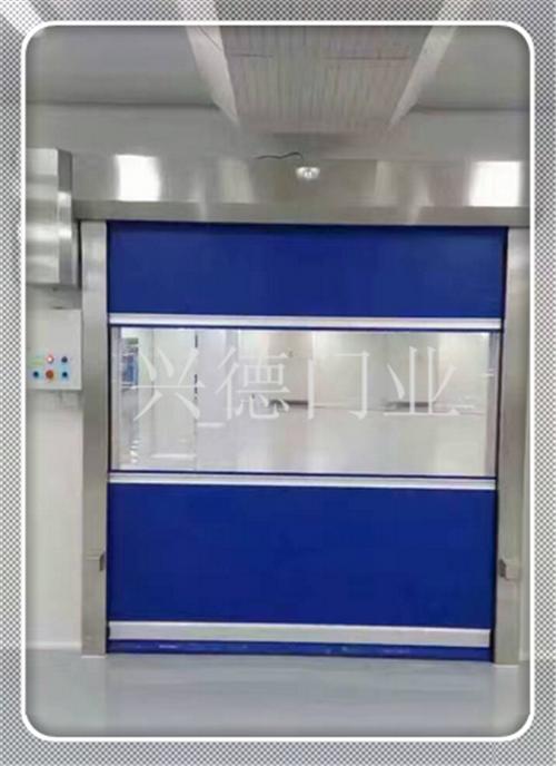 深圳PVC快速卷帘门-门帘颜色