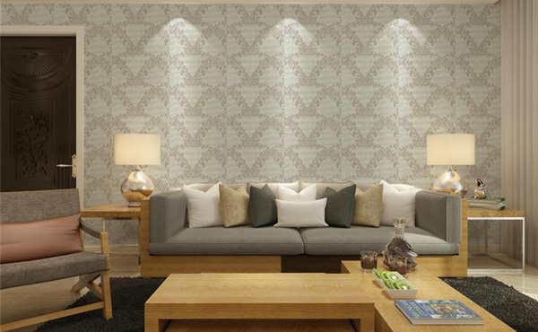 What are the beautification effects of wallpaper on the interior?