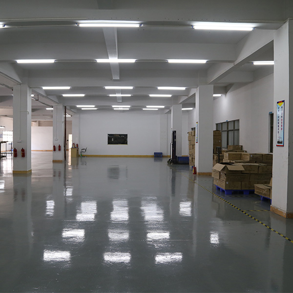 Temporary release area of products to be shipped
