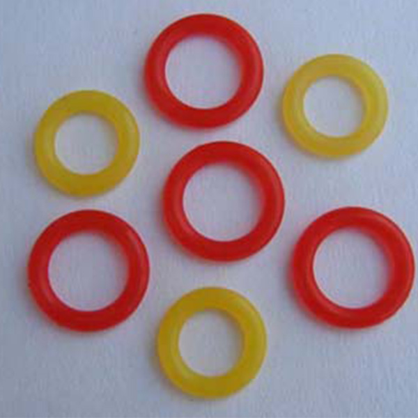 Silicone sealing ring
