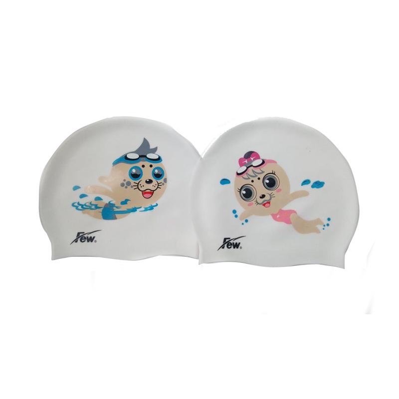 FK001/ FK002-01/02/07/08卡通形象泳帽