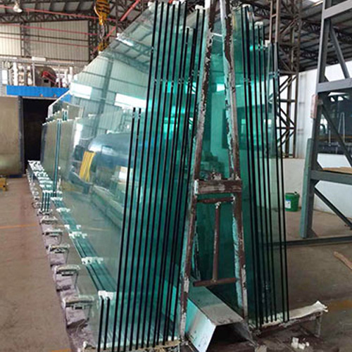 Hot dip tempered glass