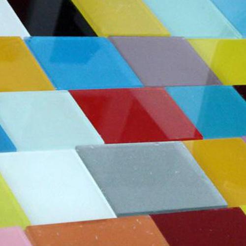烤漆工藝玻璃