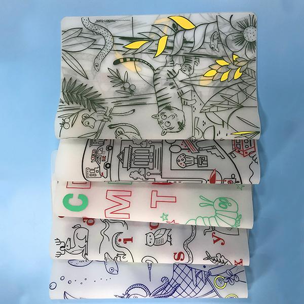 卡通硅胶板