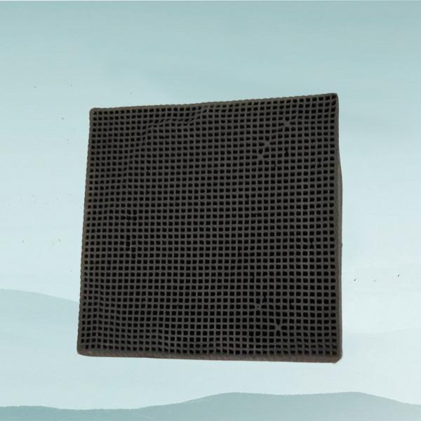 蜂窝活性炭100*100*100(防水小孔1.5)