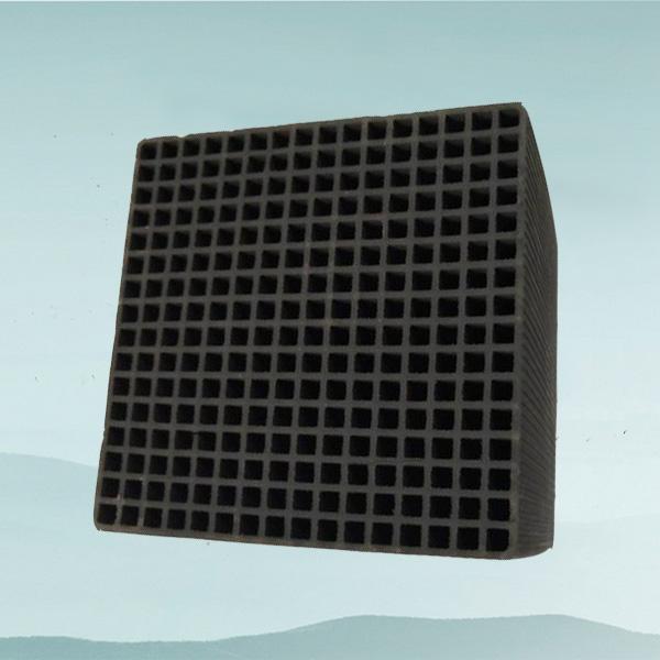 蜂窝活性炭100*100*100(防水大孔5.0)