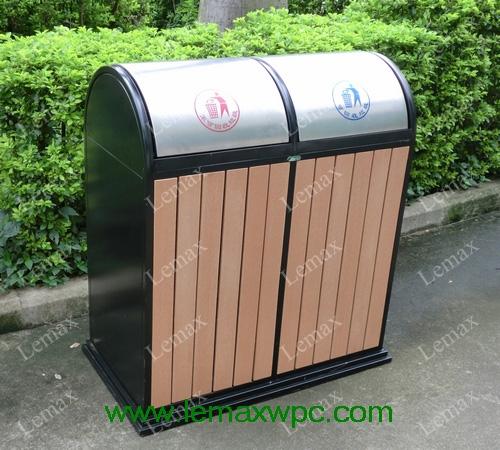 PP木塑垃圾箱VII