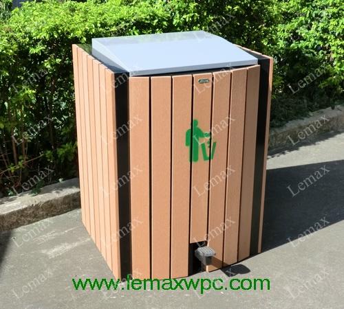 PP木塑垃圾箱IV