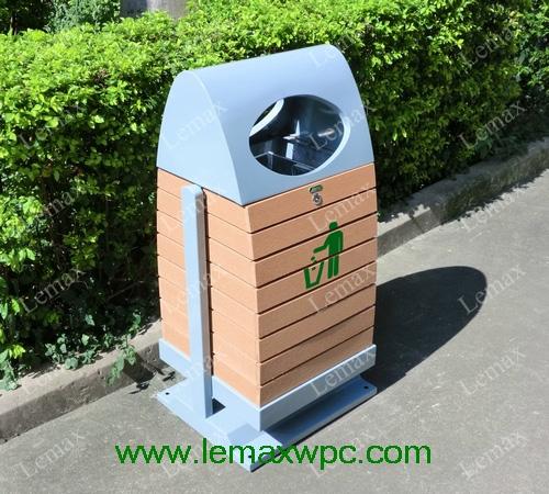 PP木塑垃圾箱III