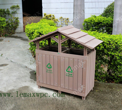 PP环保木塑垃圾屋(Eco-friendly trash Bins)