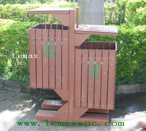 PP木塑垃圾箱I
