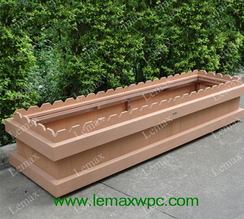 PP木塑长形花箱