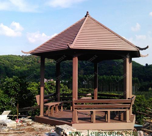 Sechseck-Pavillon