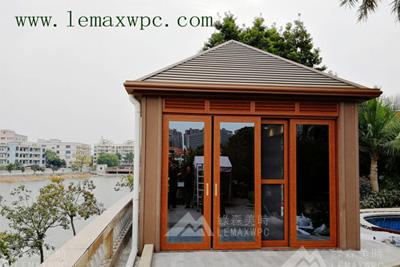 《年丰山庄》休闲茶庄及木塑凉亭工程