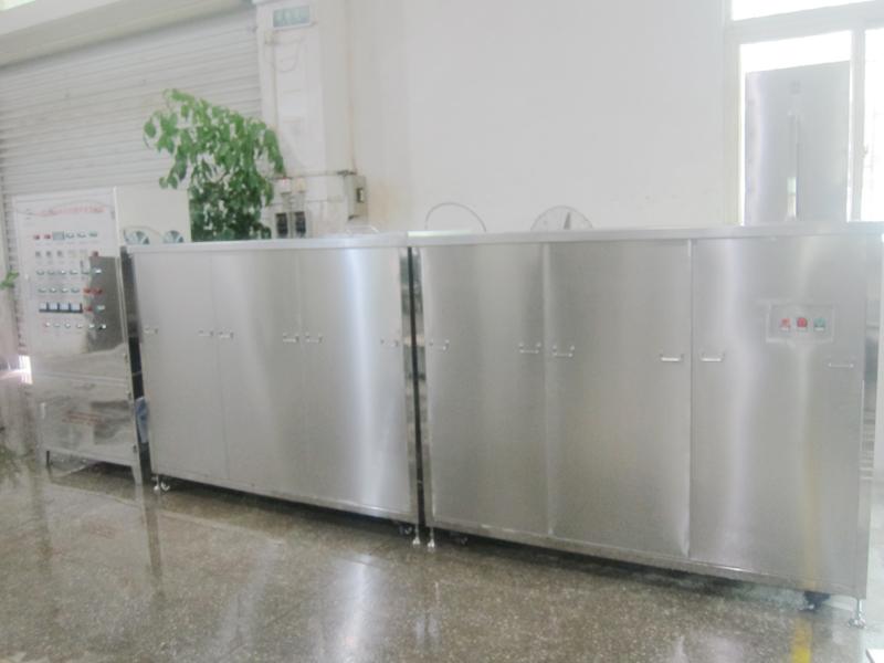 六槽半自动线圈超声波清洗机
