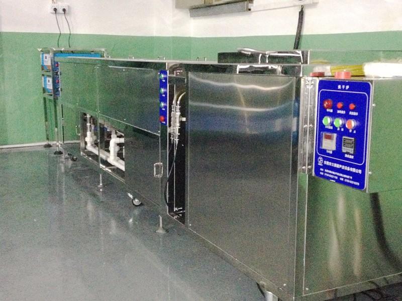 5槽清洗机加烘干炉