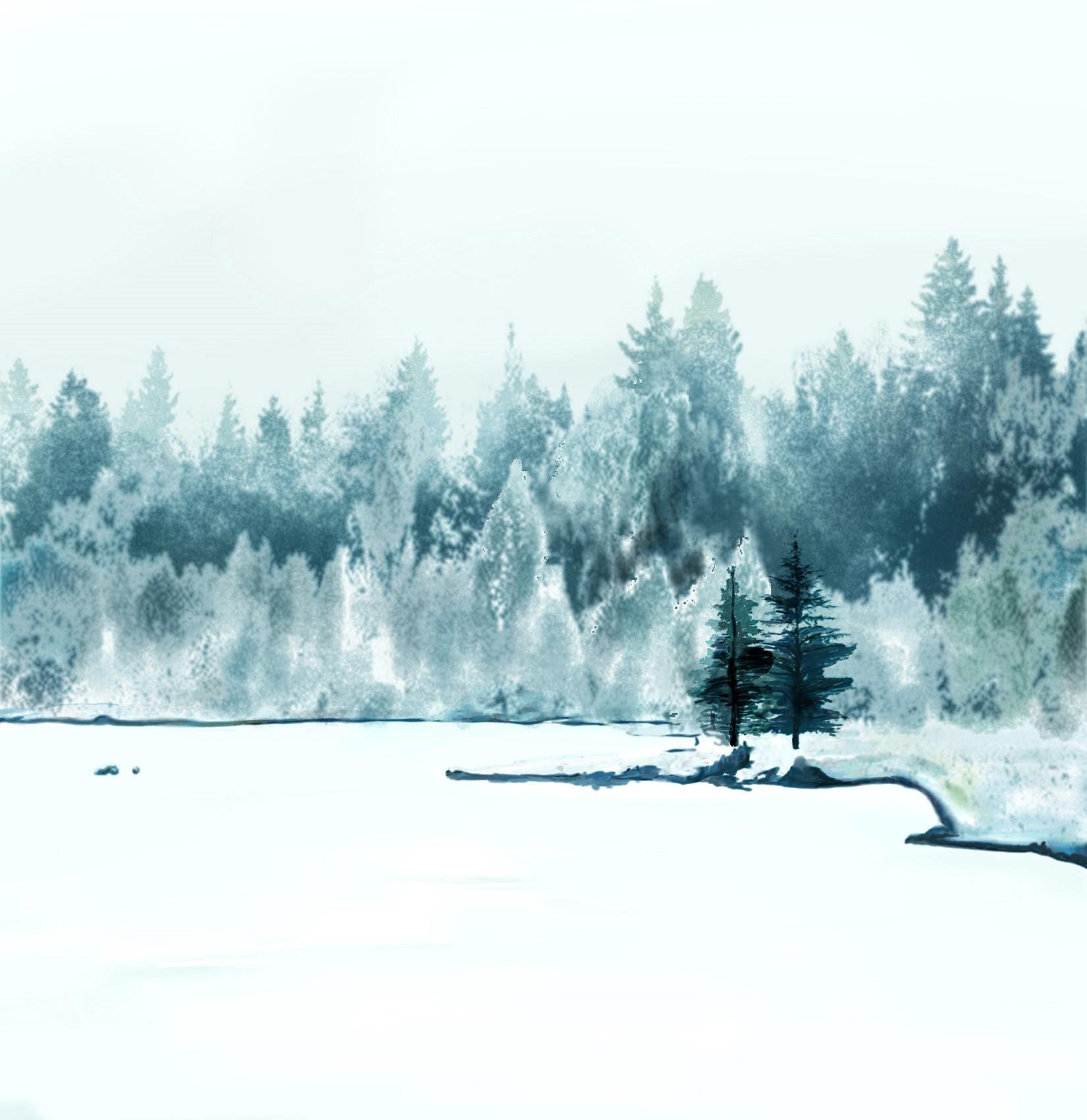 墙画风景系列