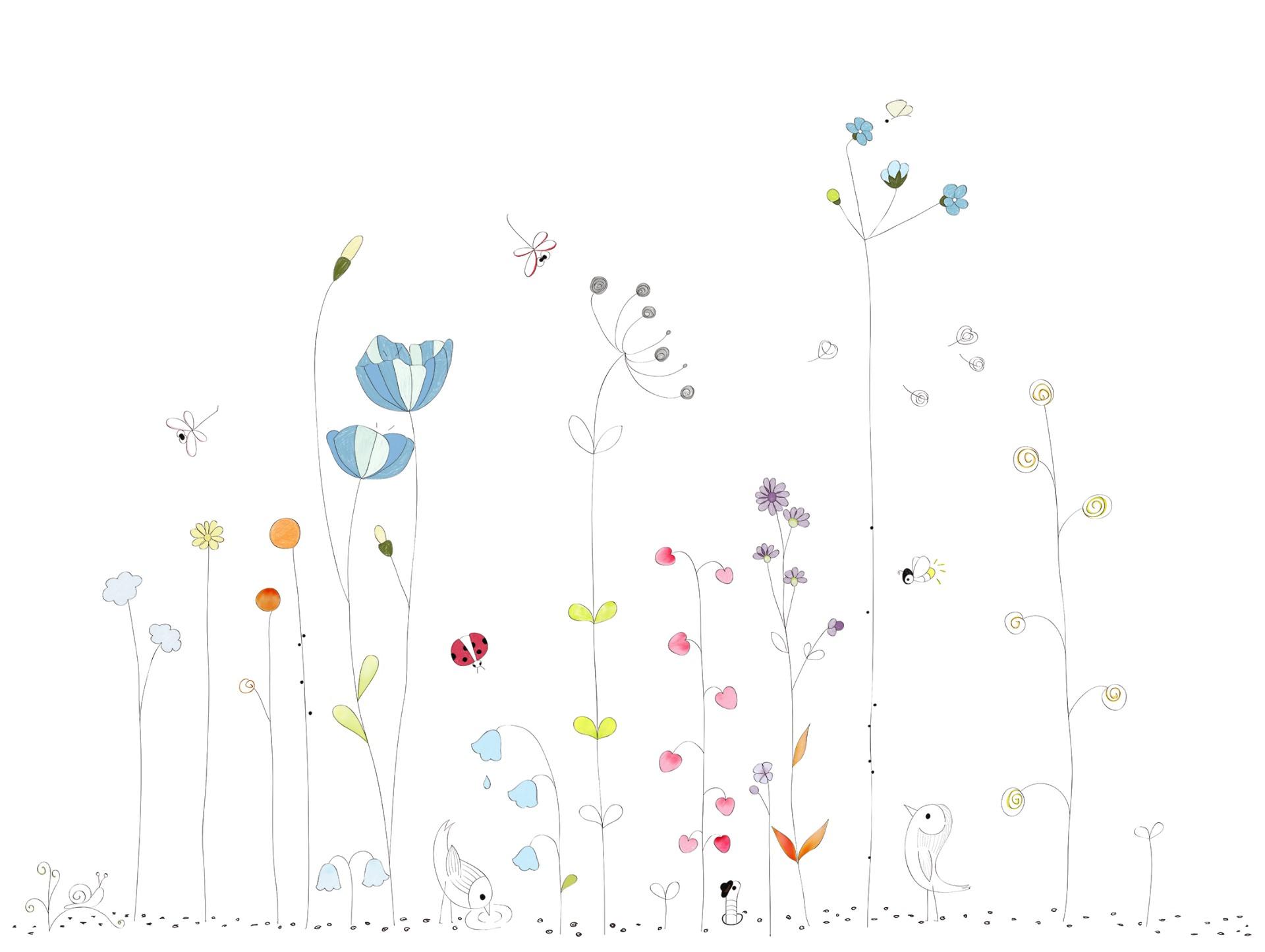 墻畫花卉類風格系列