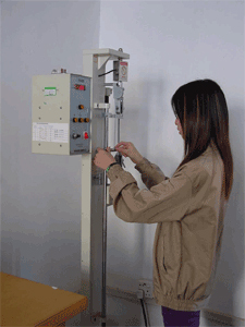 Conduct insulation tensile test