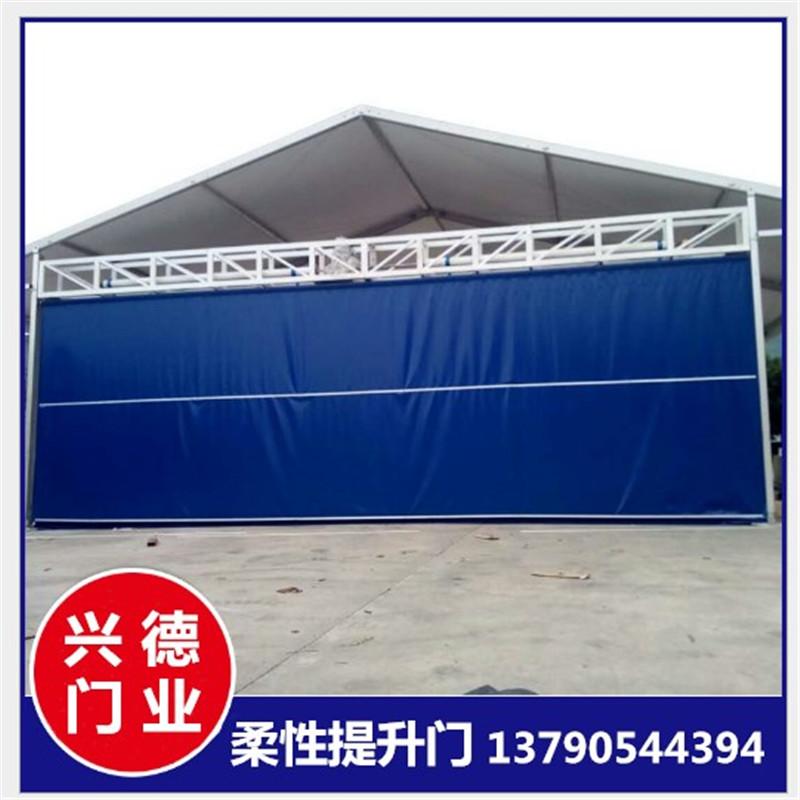 深圳双层柔性大门 柔性提升大门的最大尺寸是多少