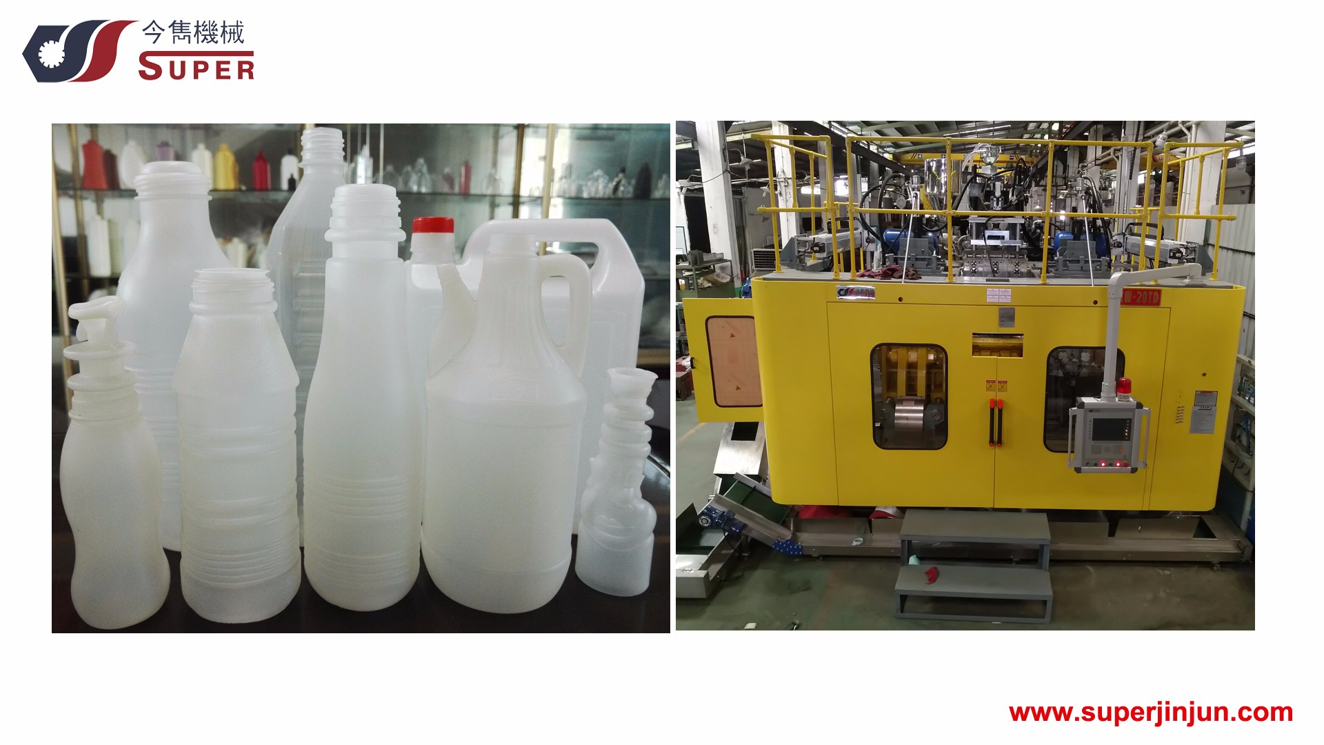 Automatic unattended bottle production line