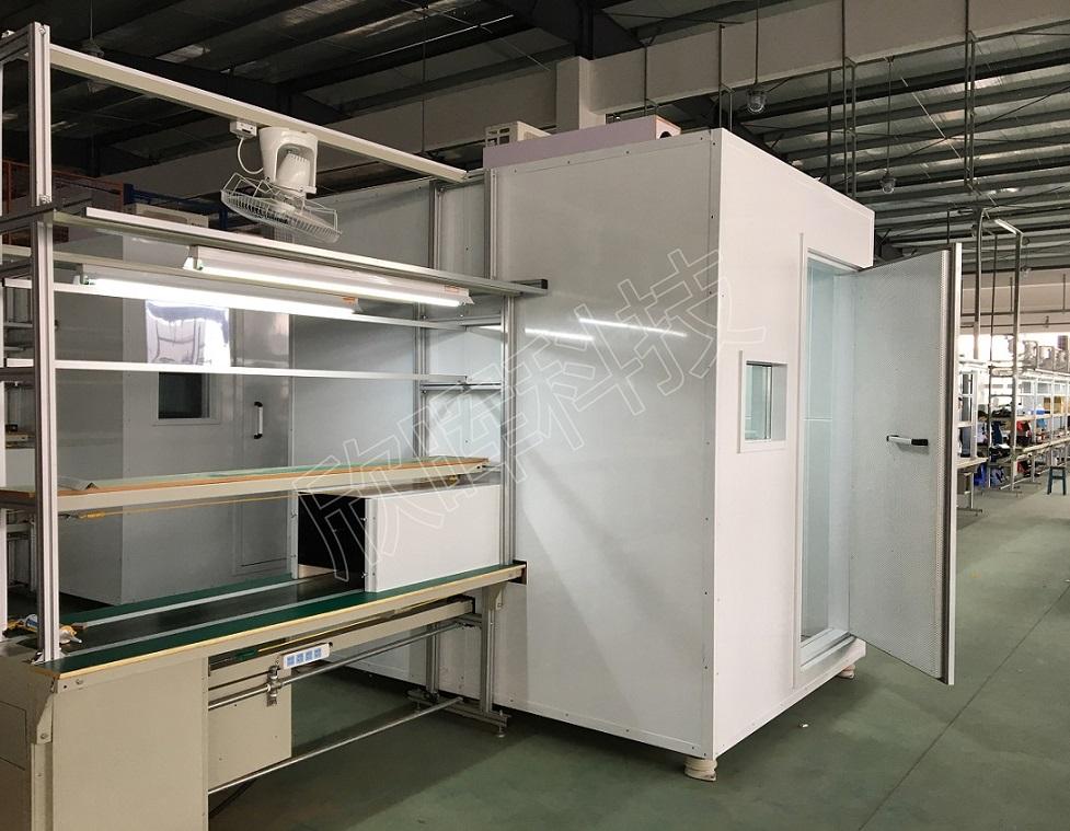 MXJ-3200跨线式隔音室