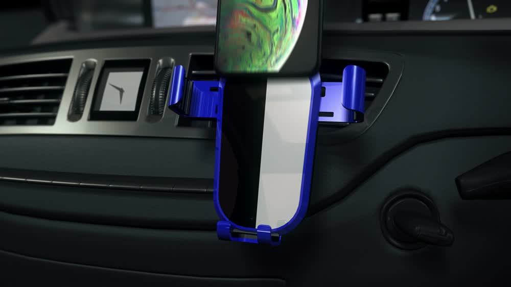 Car air vent phone holder/gravity phone holder how to install and use?