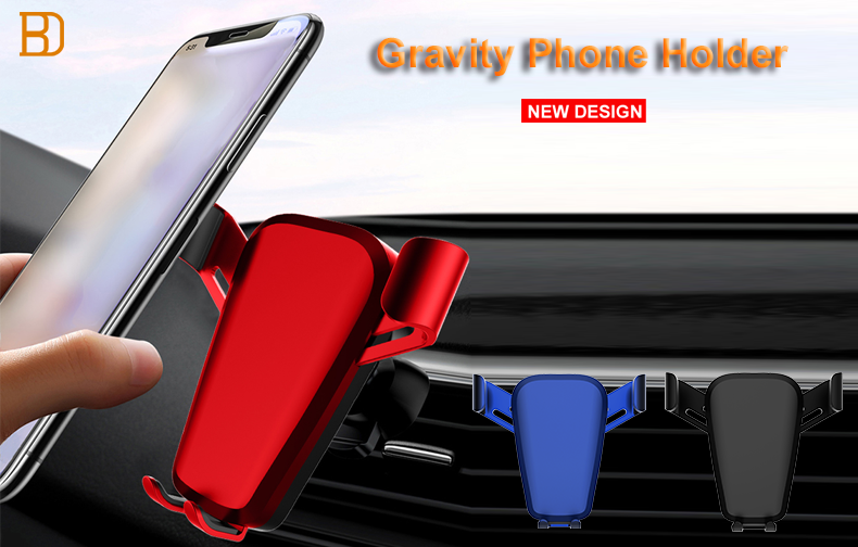 Car gravity phone holder, is your driving navigation