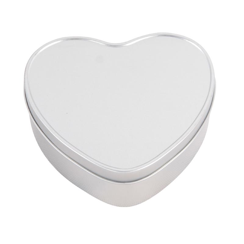 马口铁心形糖盒 婚礼婚庆喜糖铁盒 爱心礼品铁盒