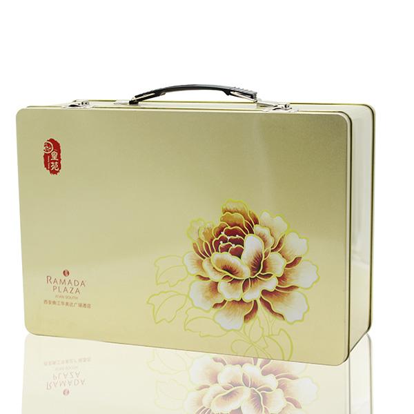 铁盒月饼包装,月饼包装盒定做厂家,马口铁月饼盒