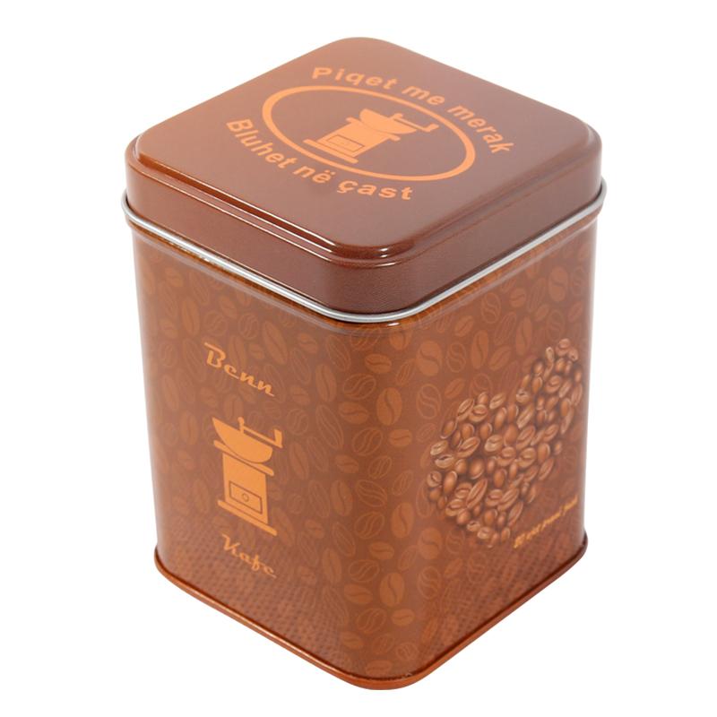 方形咖啡罐 金属食品罐 咖啡豆包装