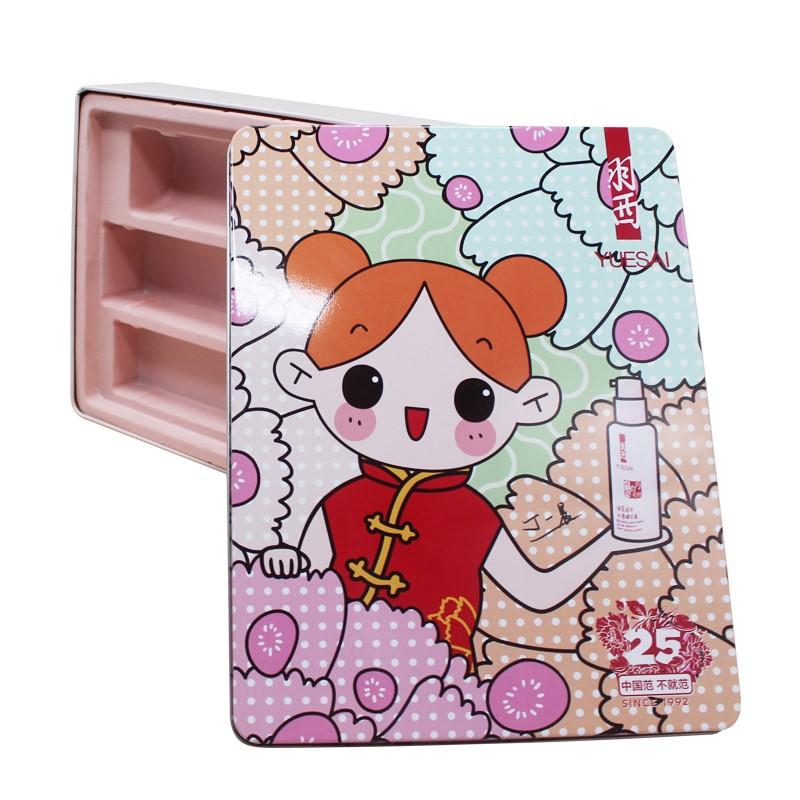 化妆品铁盒包装 化妆品铁盒