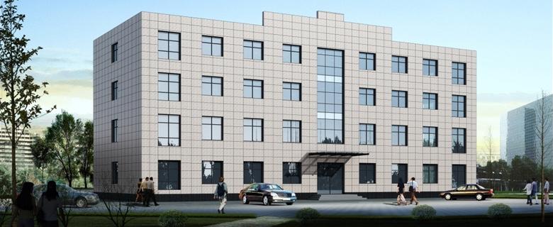 Office building partition plan