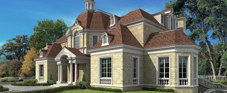Villa partition plan